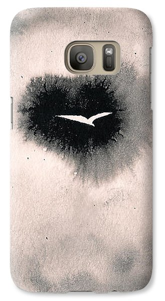 Galaxy S7 Case featuring the painting Perce-brumes by Marc Philippe Joly