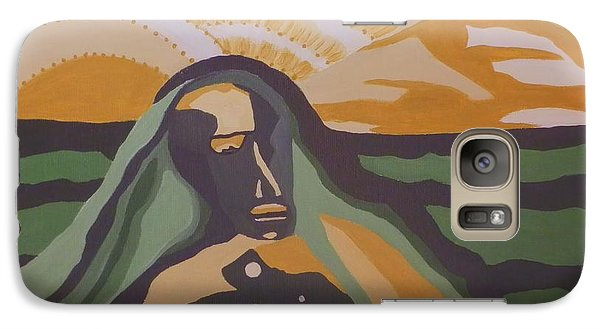 Galaxy Case featuring the painting Perchance To Dream by Carolyn Cable