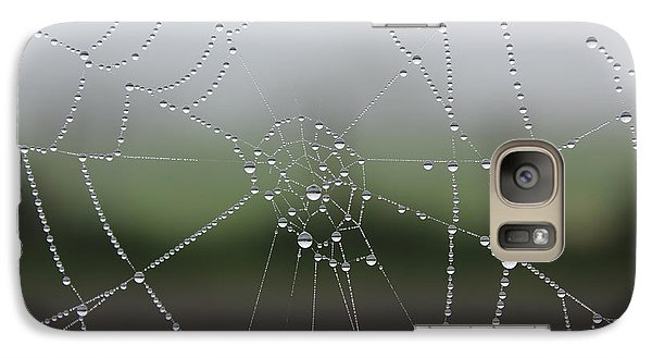 Galaxy Case featuring the photograph Perfect Circles by Vicki Spindler