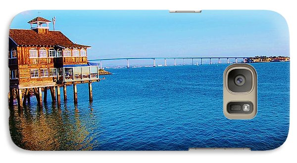 Galaxy Case featuring the photograph Perfect Day In San Diego by Jasna Gopic
