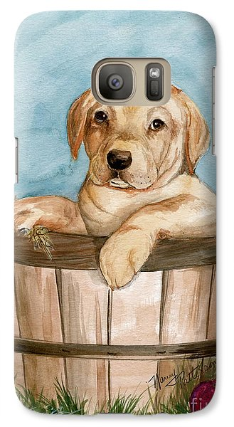 Galaxy Case featuring the painting Perfect Fit by Nancy Patterson
