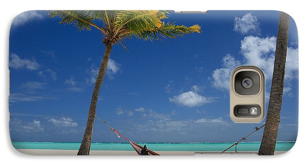 Galaxy Case featuring the photograph Perfect Tropical Beach by Karen Lee Ensley