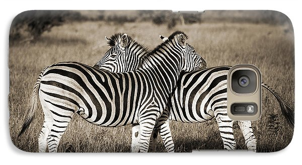 Perfect Zebras Galaxy Case by Delphimages Photo Creations