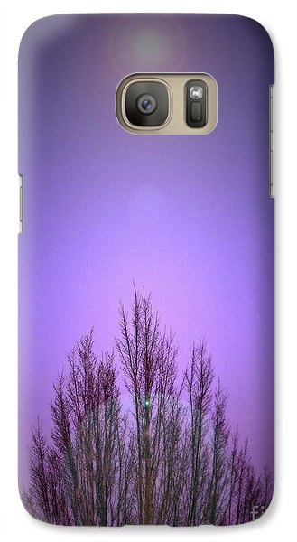 Galaxy Case featuring the photograph Perfectly Purple by Chris Anderson