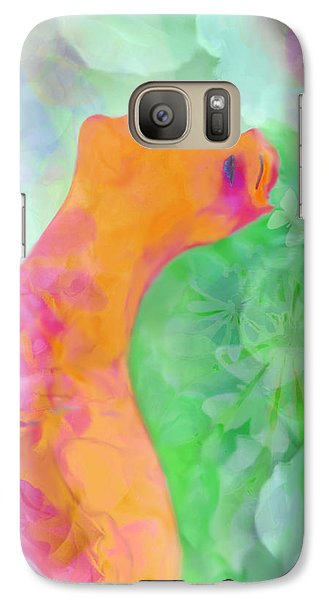 Galaxy Case featuring the digital art Perfume Of Love by Martina  Rathgens
