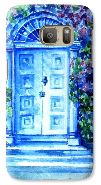 Galaxy Case featuring the painting Period Doorway Altamont Gardens by Trudi Doyle