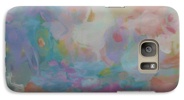 Galaxy Case featuring the painting Peripheral Vision 8 by Elis Cooke