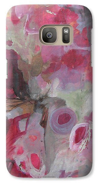 Galaxy Case featuring the painting Peripheral Vision I by Elis Cooke