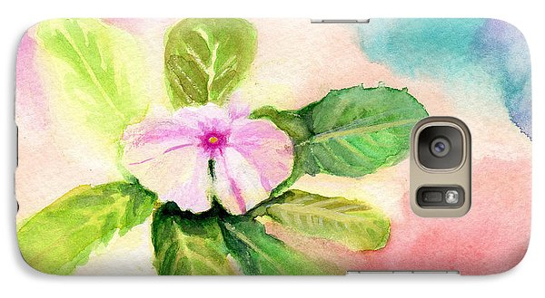 Galaxy Case featuring the painting Periwinkle by C Sitton