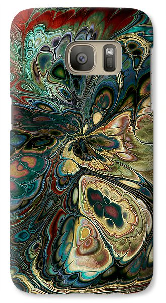 Galaxy Case featuring the digital art Perlin Party by Kim Redd