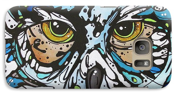 Galaxy Case featuring the painting Perry by Nicole Gaitan