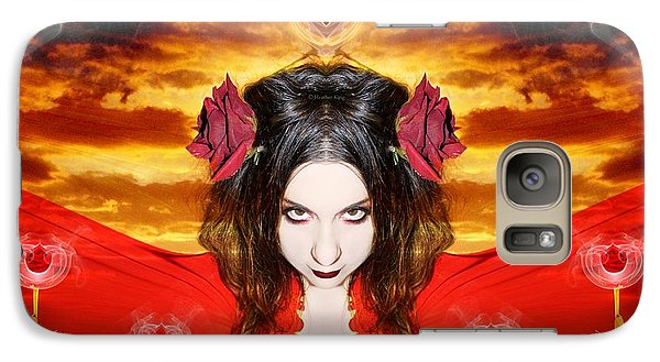 Galaxy Case featuring the photograph Persephone Do I Invoke by Heather King