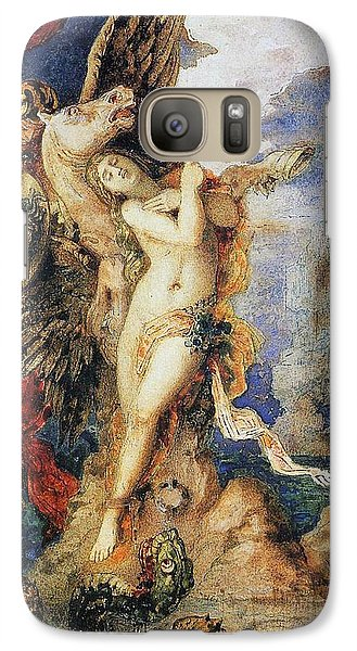 Perseus And Andromeda Galaxy S7 Case by Gustave Moreau