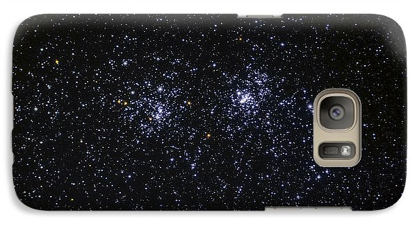 Galaxy Case featuring the photograph Perseus Double Cluster Ngc 869 by Dennis Bucklin