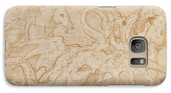 Perseus Rescuing Andromeda Red Chalk On Paper Galaxy S7 Case by or Zuccaro, Federico Zuccari