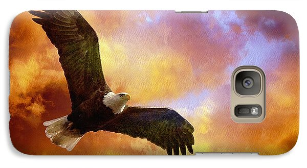 Perseverance Galaxy Case by Lois Bryan