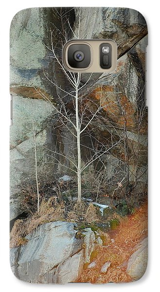 Galaxy Case featuring the photograph Perseverance by Mim White
