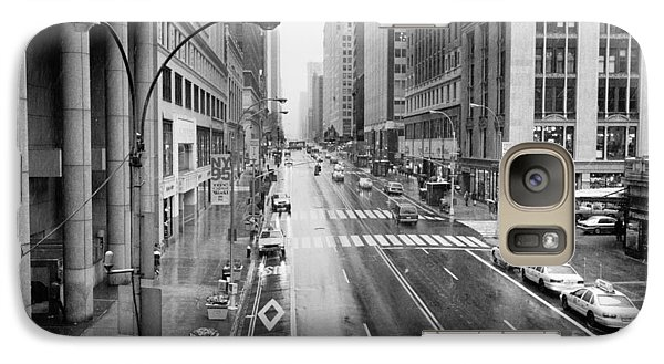 Galaxy Case featuring the photograph Pershing View 42nd Street Nyc by Dave Beckerman