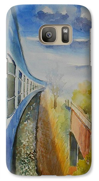 Galaxy Case featuring the painting Perspective by Geeta Biswas
