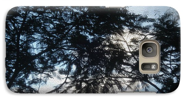 Galaxy Case featuring the painting Perspective by Megan Dirsa-DuBois