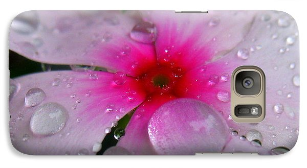 Galaxy Case featuring the photograph Petal Surfing by Patti Whitten