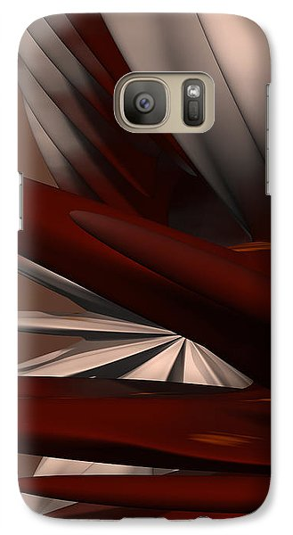Petals And Stone 2 Galaxy S7 Case