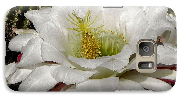 Galaxy Case featuring the photograph Petals And Thorns by Deb Halloran