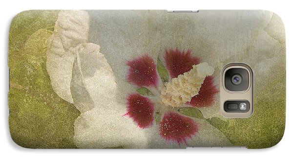 Galaxy Case featuring the photograph Petals In Shadows by Kathi Mirto
