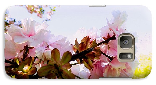 Galaxy Case featuring the photograph Petals In The Wind by Robyn King