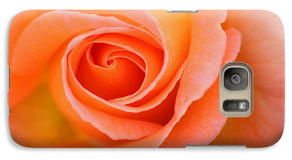 Galaxy Case featuring the photograph Petals Of Peach by Rowana Ray