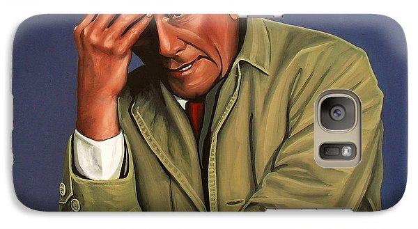 Realistic Galaxy S7 Case - Peter Falk As Columbo by Paul Meijering