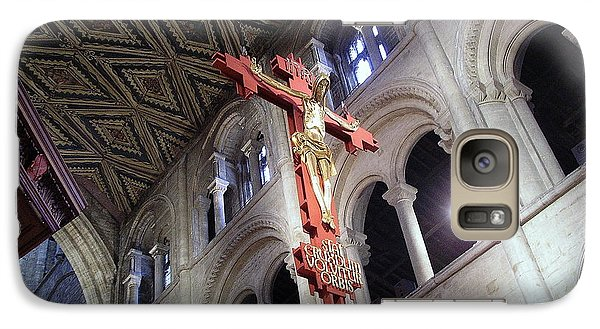 Galaxy Case featuring the photograph Peterborough Cathedral England by Jolanta Anna Karolska