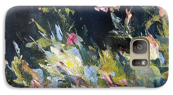 Galaxy Case featuring the painting Petite Bouquet by Mary Lynne Powers
