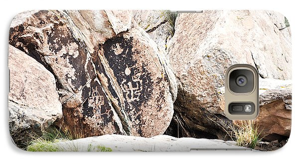 Galaxy Case featuring the photograph Petroglyph by Cheryl McClure