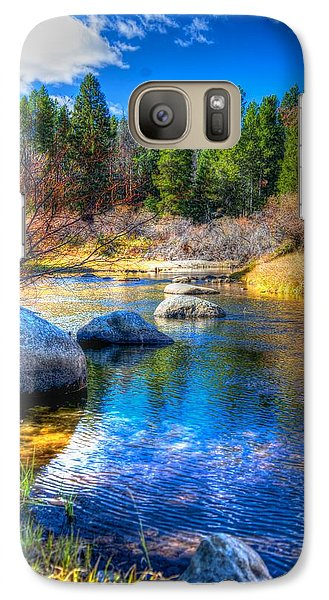 Galaxy Case featuring the photograph Pettengill Creek by Kevin Bone