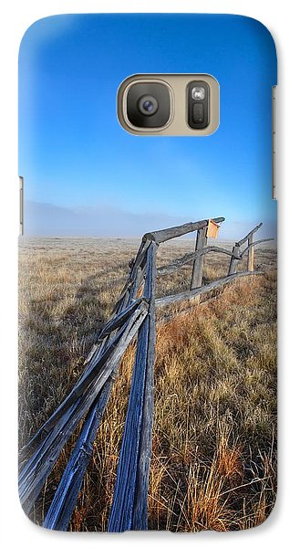 Galaxy Case featuring the photograph Pettit Fog by David Andersen