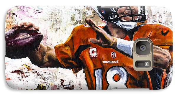Peyton Manning Galaxy Case by Mark Courage