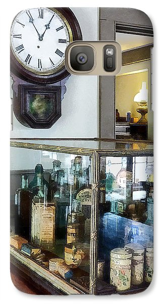 Galaxy Case featuring the photograph Pharmacist - Corner Drug Store by Susan Savad