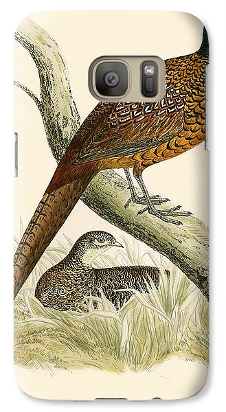 Pheasant Galaxy S7 Case