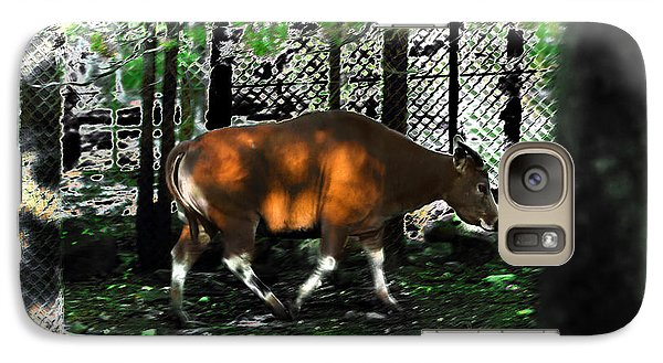 Phenomena Of Banteng Walk Galaxy S7 Case