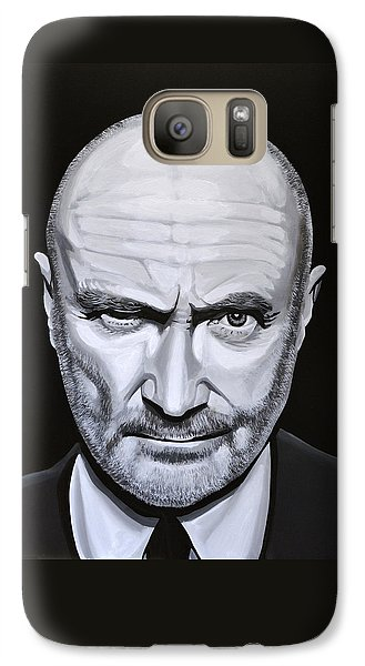Trumpet Galaxy S7 Case - Phil Collins by Paul Meijering