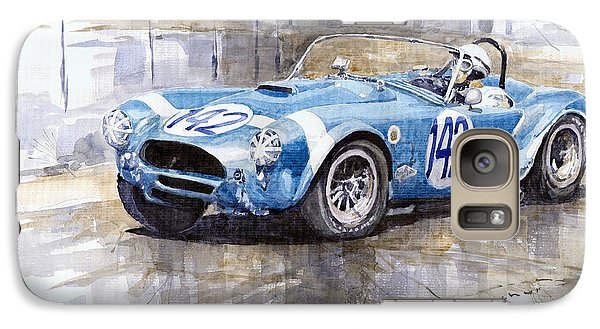 Phil Hill Ac Cobra-ford Targa Florio 1964 Galaxy S7 Case by Yuriy Shevchuk