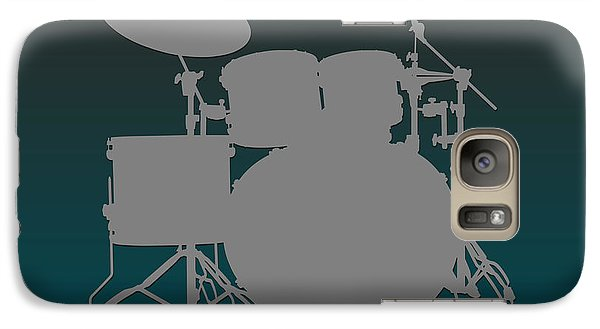 Philadelphia Eagles Drum Set Galaxy S7 Case by Joe Hamilton