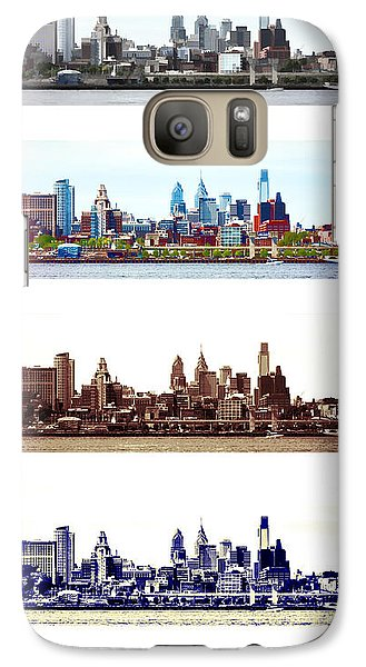 Philadelphia Four Seasons Galaxy Case by Olivier Le Queinec