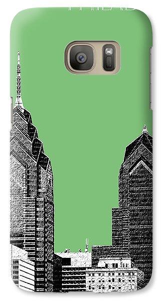Philadelphia Skyline Liberty Place 2 - Apple Galaxy S7 Case by DB Artist