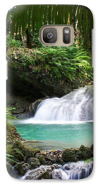 Galaxy Case featuring the photograph Philippine Waterfall by Avian Resources