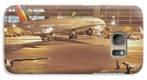 Galaxy Case featuring the photograph Philippines Air Line  by Puzzles Shum