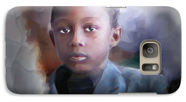 Galaxy Case featuring the painting Phillipe by Bob Salo