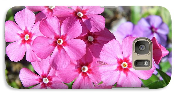 Galaxy Case featuring the photograph Phlox Beside The Road by D Hackett