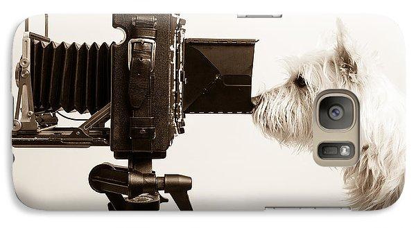 Pho Dog Grapher Galaxy S7 Case by Edward Fielding